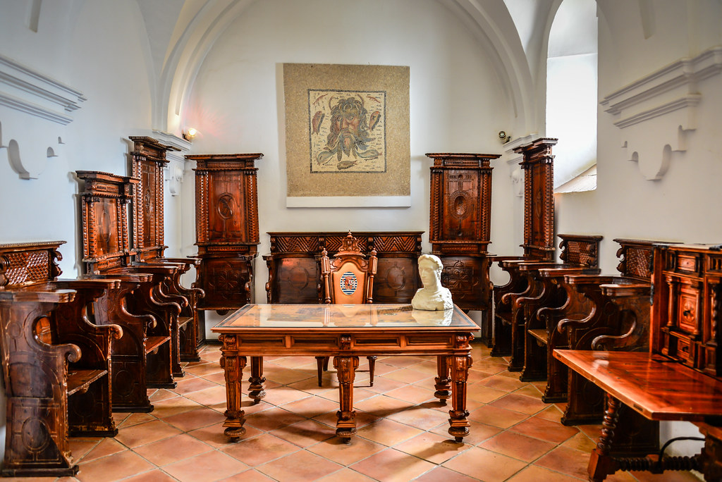 Image result for interior of Alcazar de los Reyes Cristianoscordoba spain