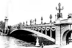 Pont Alexandre III  Black & White