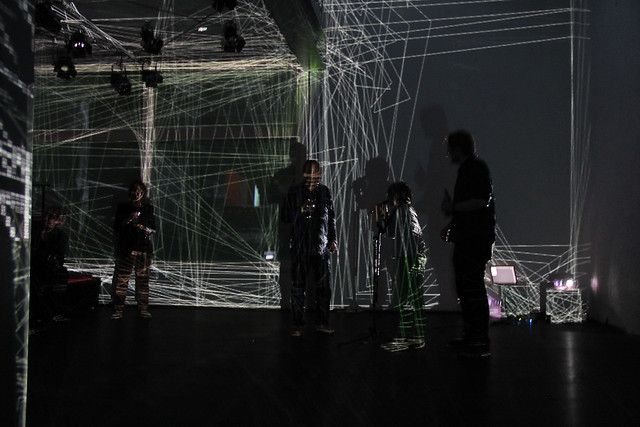 mayer+empl . AD . video mapping performance . Atelier Diagonale . 2014