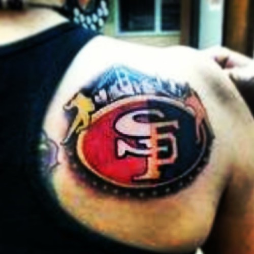 sport in sanfrancisco fogcity sfo tattoo pictureoftheday giants niners find me a tattoo. Black Bedroom Furniture Sets. Home Design Ideas