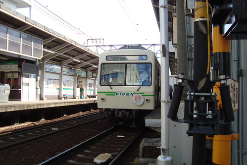 2014/05 叡山電車 ご注文はうさぎですか? ヘッドマーク車両 #04