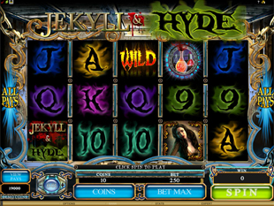 Jekyll and Hyde Slot Machine