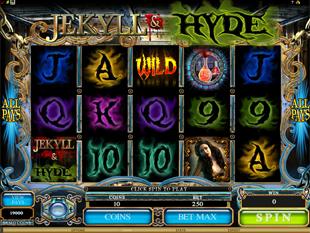 Jekyll and Hyde Slot Machine