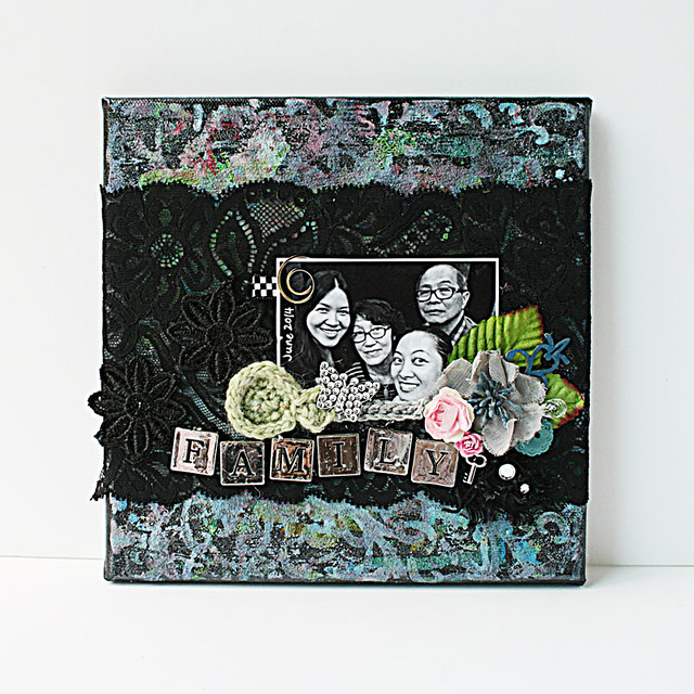 Family-mixed-media-canvas