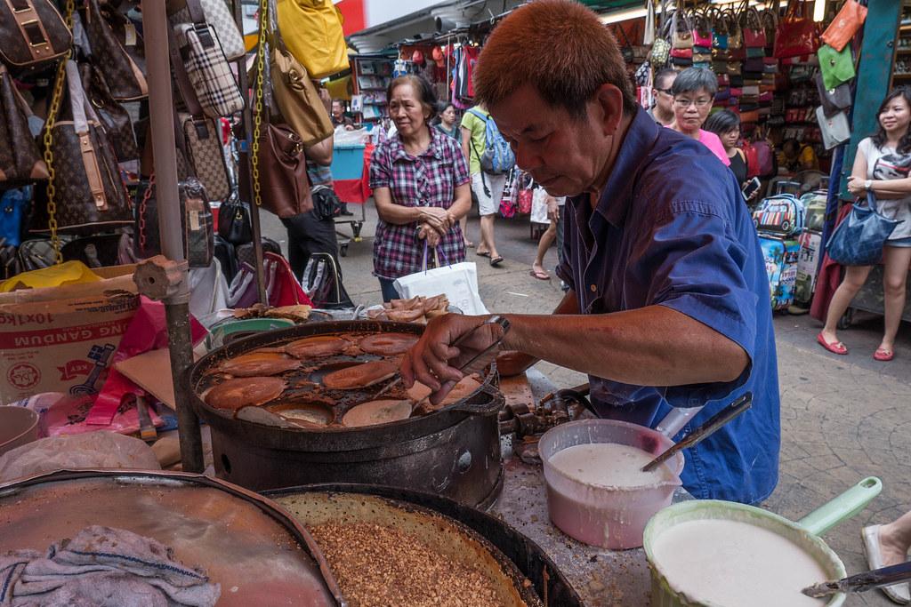 Pancake man at Chinatown Markets in Kuala Lumpur, Malaysia.jpg
