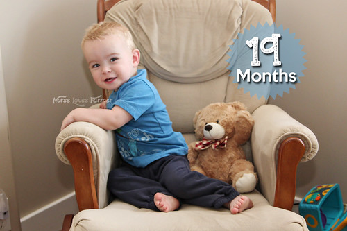 Ethan is 19 Months Old!