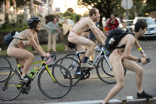 2014 World Naked Bike Ride -54