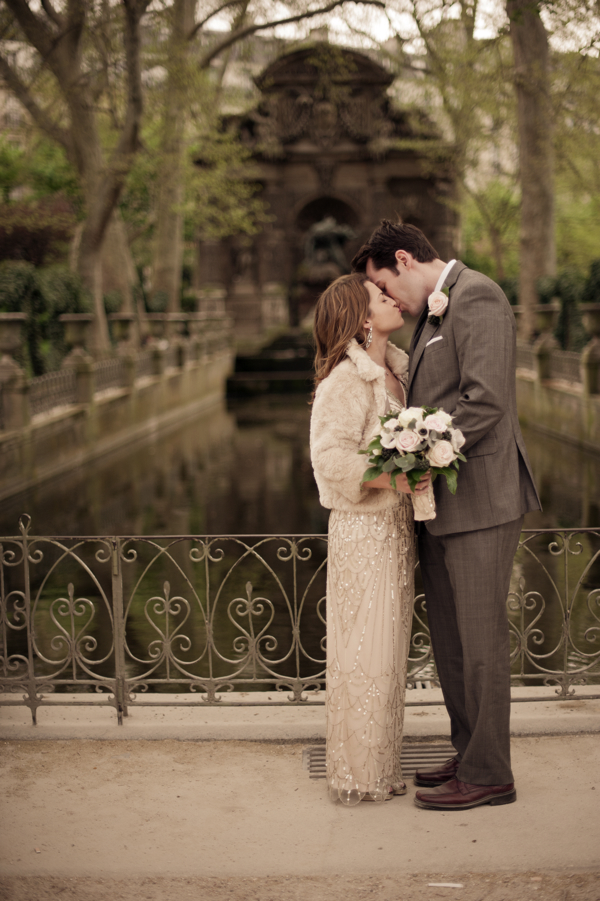 Luxembourg Gardens :: Hello Framboise Wedding :: Photo by Juliane Berry