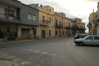 Noicattaro. Via Cadorna frontalee