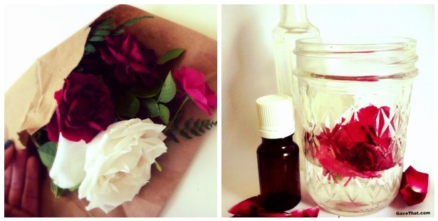 Making a Natural Rose Perfume