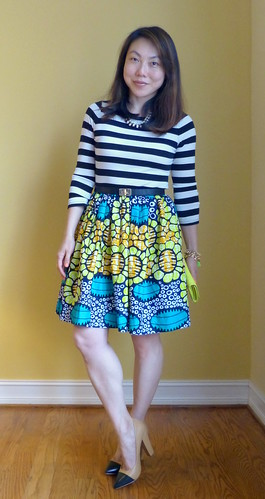 ankara + stripes