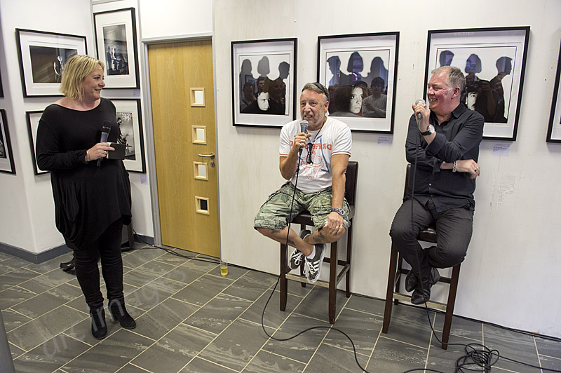 D Exhibition Manchester : Gig junkies archive peter hook and kevin cummins