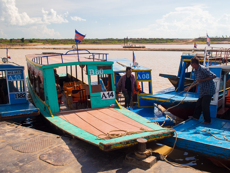 Boats awaiting passengers