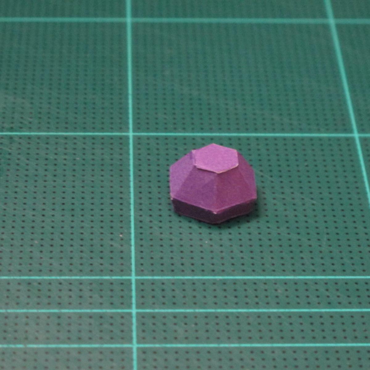 วิธีทำโมเดลกระดาษตุ้กตา คุกกี้รสราชินีสเก็ตลีลา จากเกมส์คุกกี้รัน (LINE Cookie Run Skating Queen Cookie Papercraft Model) 003