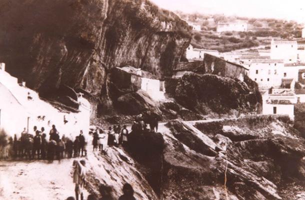 Las Jabonerías, en 1927.
