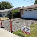 Rebar Reinforced Concrete Driveway In Fairfield