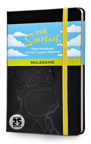 Simpsons x Moleskine