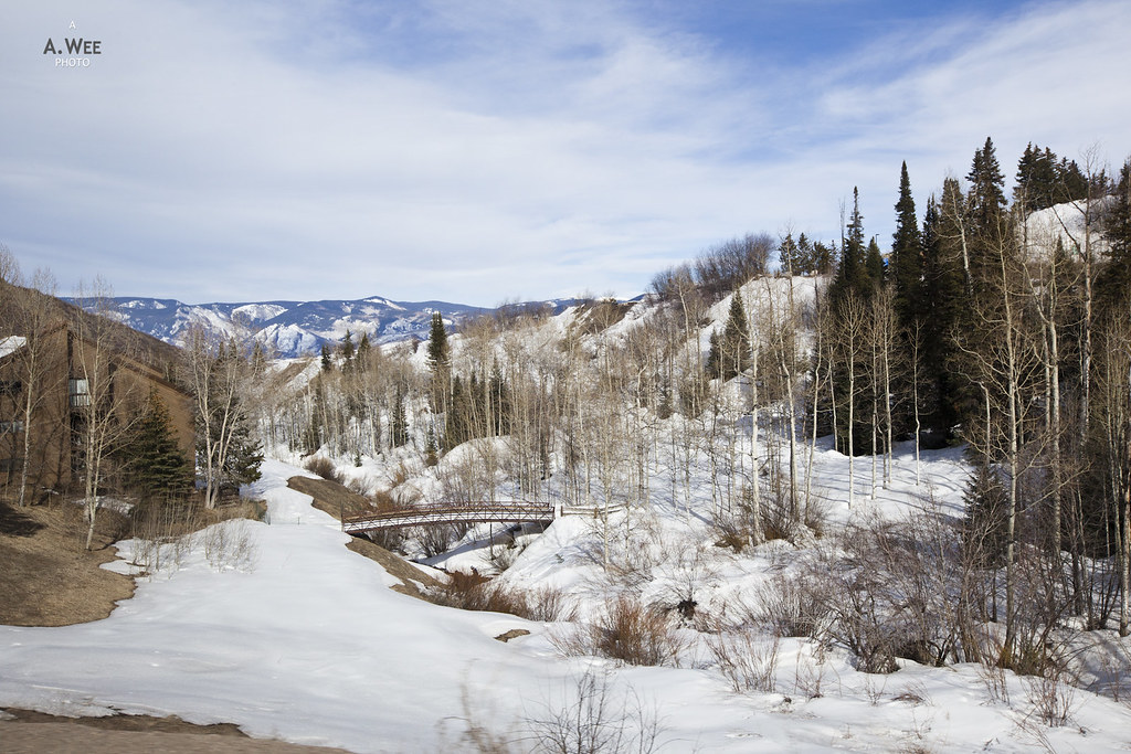 The valley at Snowmass, Colorado