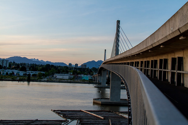 Fraser River Canada Line Bridge