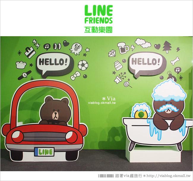 【台中line展2014】LINE台中展開幕囉!趕快來去LINE FRIENDS互動樂園玩耍去!(圖爆多)55