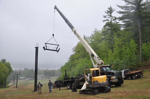 New lift at Shawnee Peak
