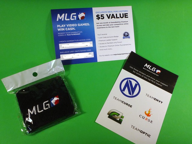 June 2014 Loot Crate MLG