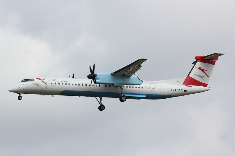 Austrian Airlines - DH8D - OE-LGC (1)