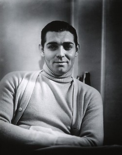 clark gable turtleneck