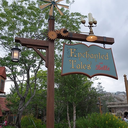 Enchanted Tales with Belle。ほんとうにいいアトラクション。