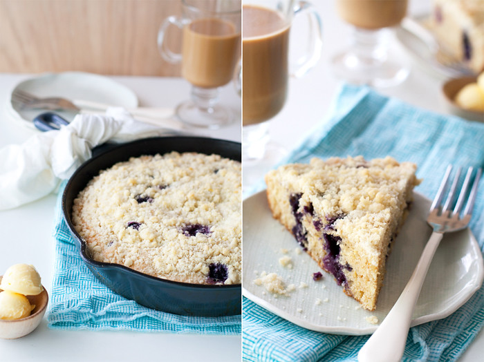 Use Muffin Mix To Make Skillet Cake