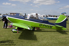 G-PHVM VAN'S RV-8 PFA 303-14609 PRIVATE  -Sywell-20130601-Alan Gray-IMG_6489