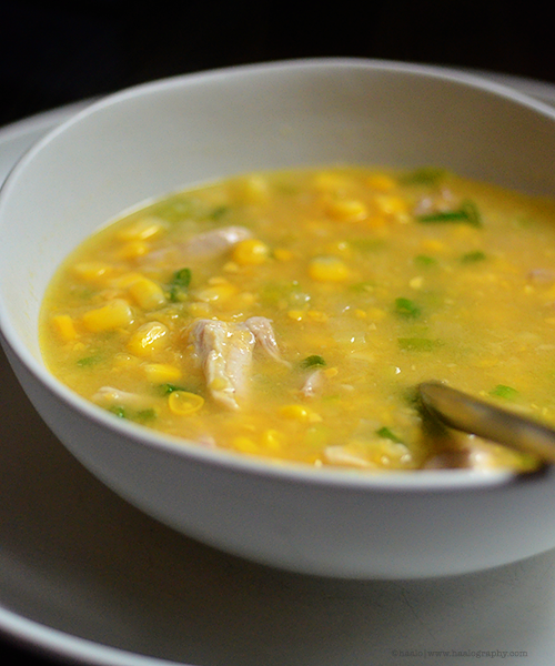 chicken sweet corn soup© by Haalo