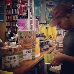 Our blocks in @BookCulture! #persian #arabic #farsi #bookstore #bookculture #newyork #nyc #ny #manhattan #upperwestside #dreamcometrue #multilingual #bilingual #educational #education #toys #persianblocks #arabicblocks #farsiblocks #drbashi #drbashiblocks