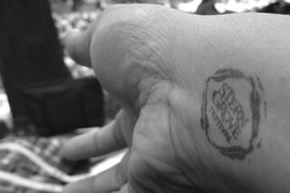 Stern Grove 2014 - Hand stamp