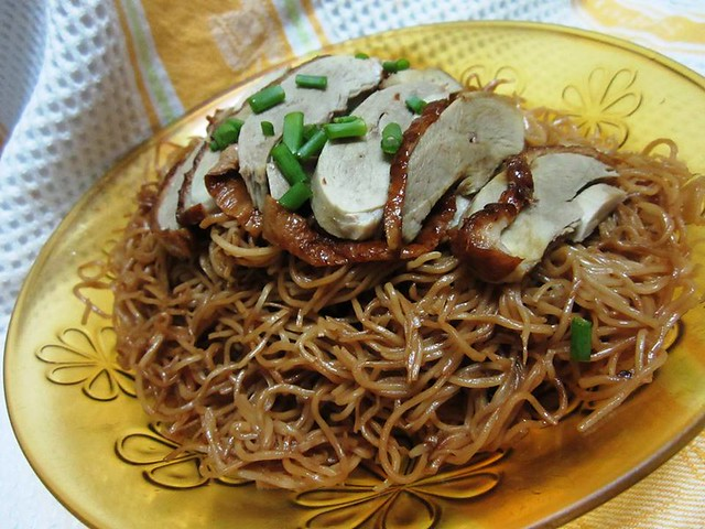 Made-in-China noodles with Bovril