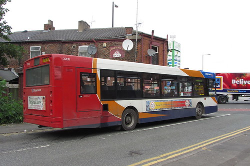 MAN 18.220/ALX300 Stagecoach Manchester S130 TRJ, Ogden Lane, Openshaw