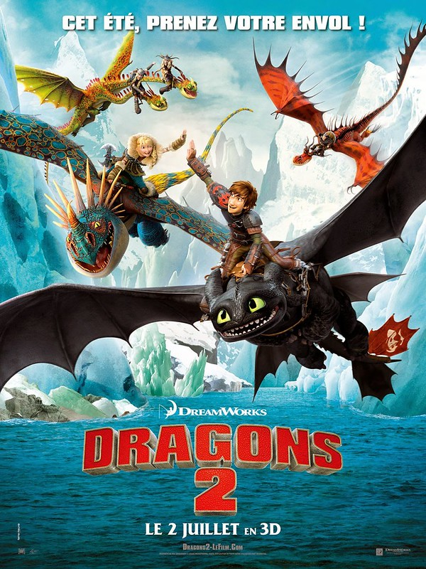 【傲聊影】馴龍高手2 HOW TO TRAIN YOUR DRAGON 2
