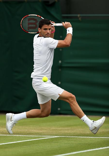 Grigor Dimitrov Wimbledon outfit