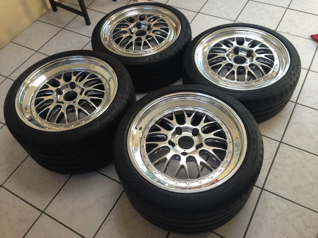Fs 19 Quot Bbs E88 With Michelin Pss For Gt3 Rennlist