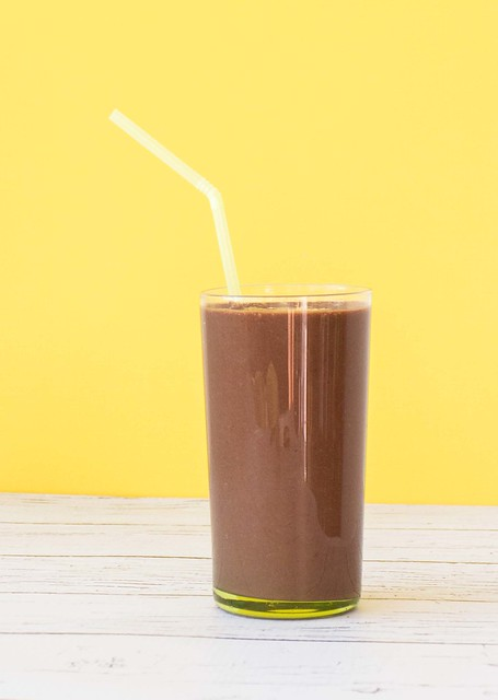 Double Chocolate Banana Frozen Smoothie_2