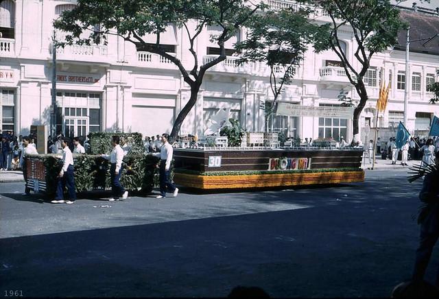 SAIGON 1961 -  Trung Sisters' Day - Lễ Hai Bà Trưng năm 1961