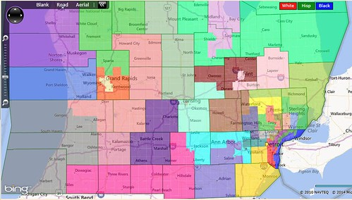 A strong realistic democratic gerrymander of the michigan state southern michigan publicscrutiny Image collections