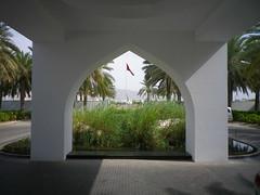 Entrance at The Chedi Hotel