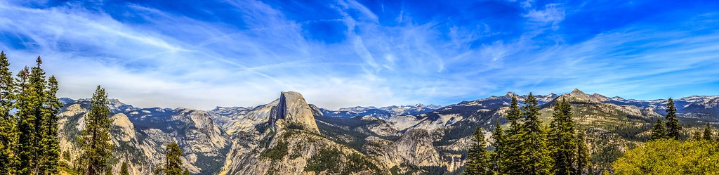 #Yosemite #halfdome #panorama
