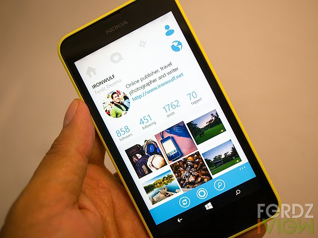 6Tag the better Instagram alternative for Windows Phone