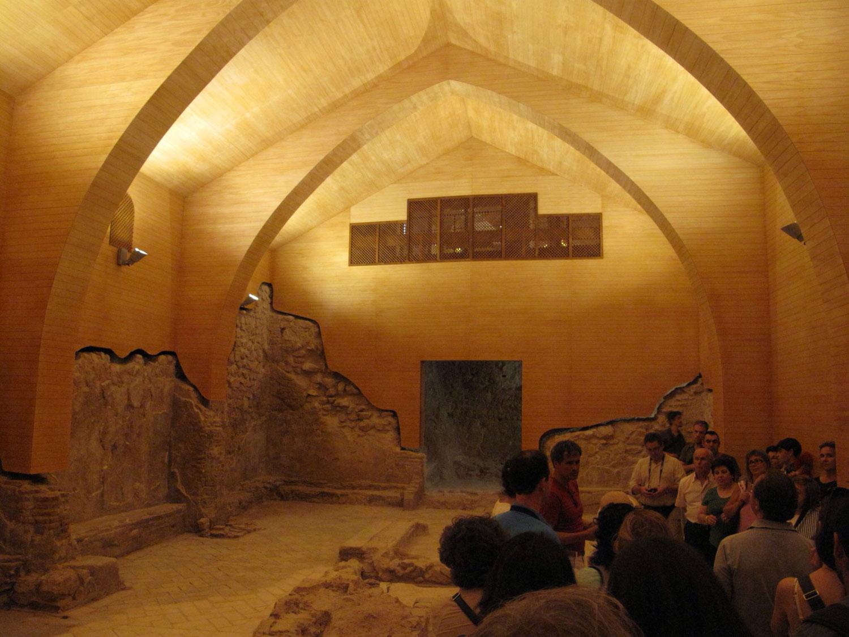 reharq: restos sinagoga del castillo de lorca murcia. Restauración arquitectónica