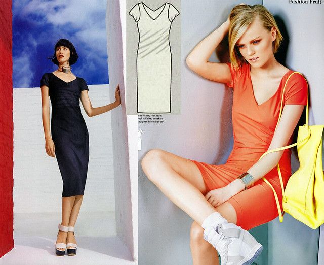 Burda-June-2014_Twisted Dress
