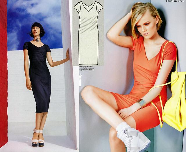 Burda-June-2014_Twisted Dress