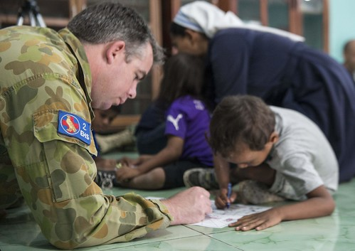 Pacific Partnership Visits Irmas Alma School for Disabled Children in Timor-Leste
