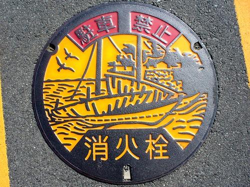 Kuwana Mie, manhole cover 4 (三重県桑名市のマンホール4)